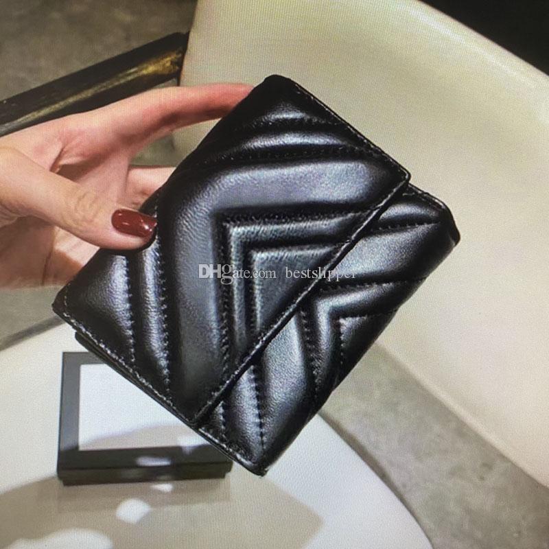 474802 محفظة MARMONT قصيرة كلاسيك أزياء المرأة عملة المحفظة الحقيبة مبطن جلد طبيعي المرأة محافظ بطاقة الائتمان الرئيسية حامل الفاصل