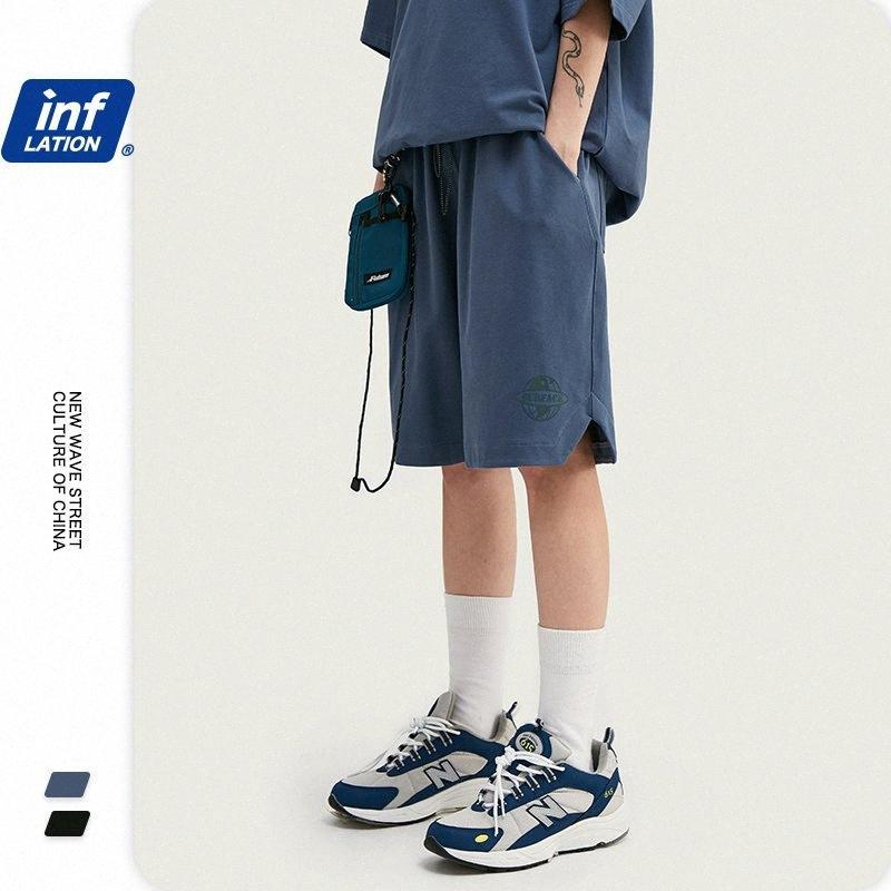 INFLATION elastische Taillen-Männer Shorts Street Wear Herren Shorts Hip Hop beiläufige Sommer-Weinlese Männer Compression 3032S20 ddjb #