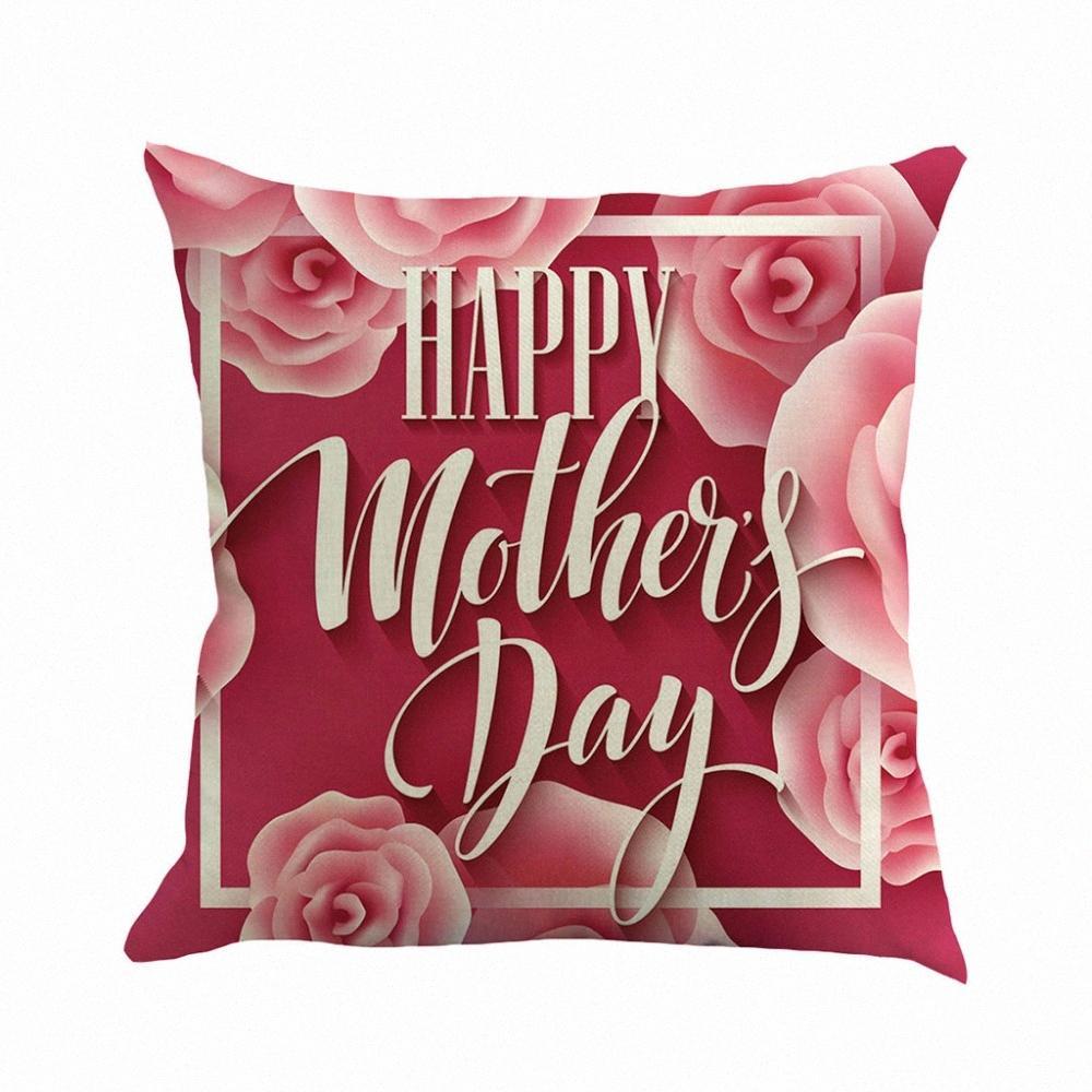 Yeni Süper Yumuşak Anneler Günü Keten Yastık Koltuk Pad Seti Ev Dekorasyon W610 LZP6 #