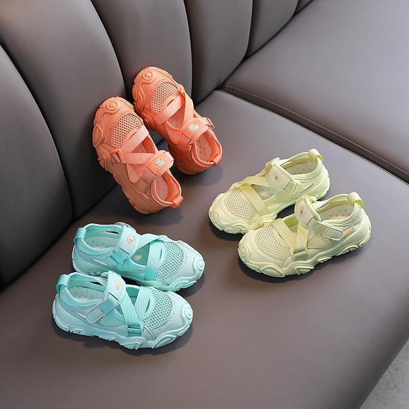 Estate 2020 nuova Daisy scarpe da tennis casuali di media per bambini e traspirante, scarpe maglie larghe per bambini morbide scarpe inferiori