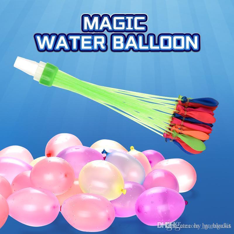 Summer Balloon Water of Balloons Magic water-riempito giocato per bambini Giardino La festa colorata in giochi Acqua per Beach Bunch Bombs Kids T UXJX