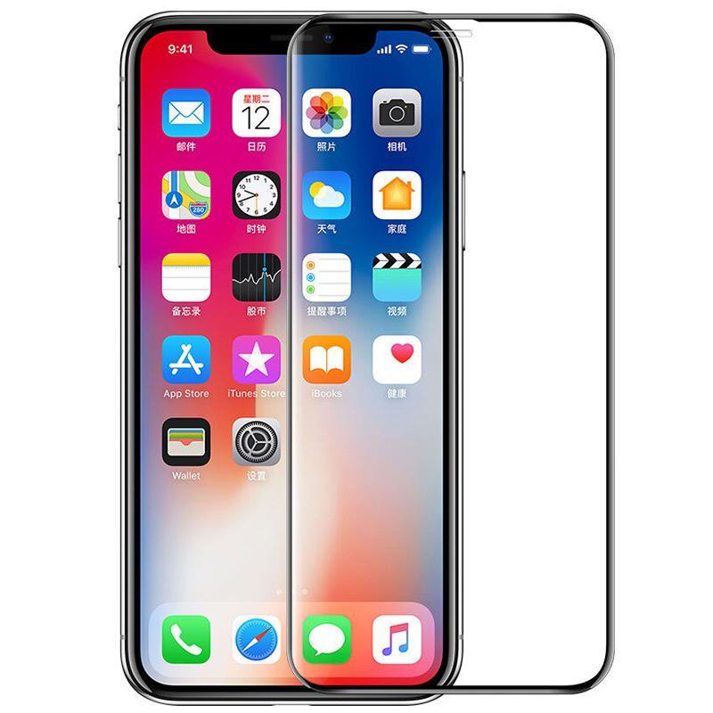 Vetro temperato Copertura a copertura piena Copertura curva Protezione schermo antisommontano Guardia per iPhone 12 Mini 11 Pro Max XS XR x 8 7 6 6S Plus SE 2020