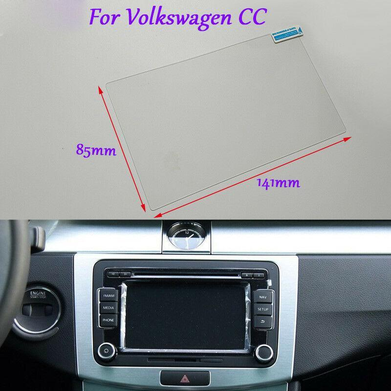 Internal Accessories 6.5 inch Car GPS Navigation Screen HD Glass Protective Film For Volkswagen CC
