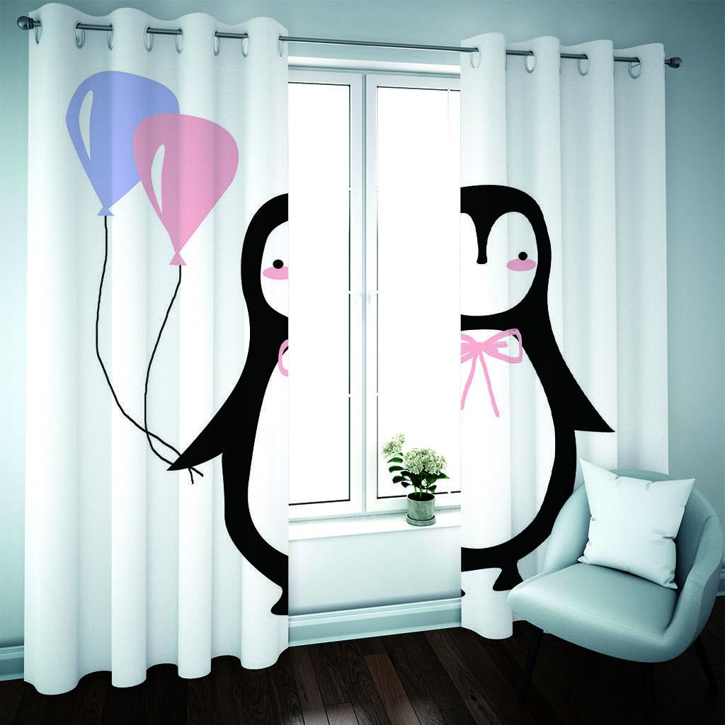 воздушный шар животных занавес Украшение для гостиной Шторы Спальни для оконного Luxury Blackout Shading Кортинас пункт La Sala