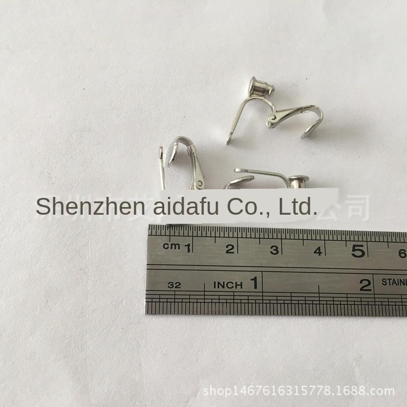 Lochfreien Ohrclip DIY Kupfer Schmuck Hardware-Zubehör Kupfer heißen Verkauf Diy Ohrringe Zubehör Ohrringe Ohrhaken