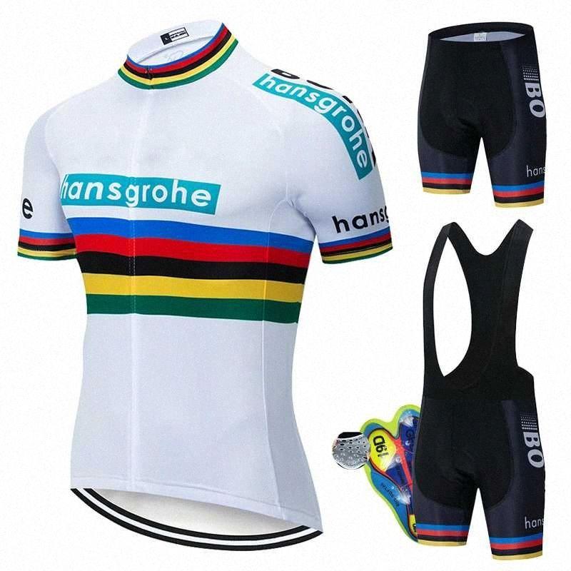 Ciclismo Sets 2020 Nova bicicleta uniforme Summer Wear Ciclismo Jersey Set Estrada Jerseys de bicicleta MTB bicicleta respirável roupa ehJZ #