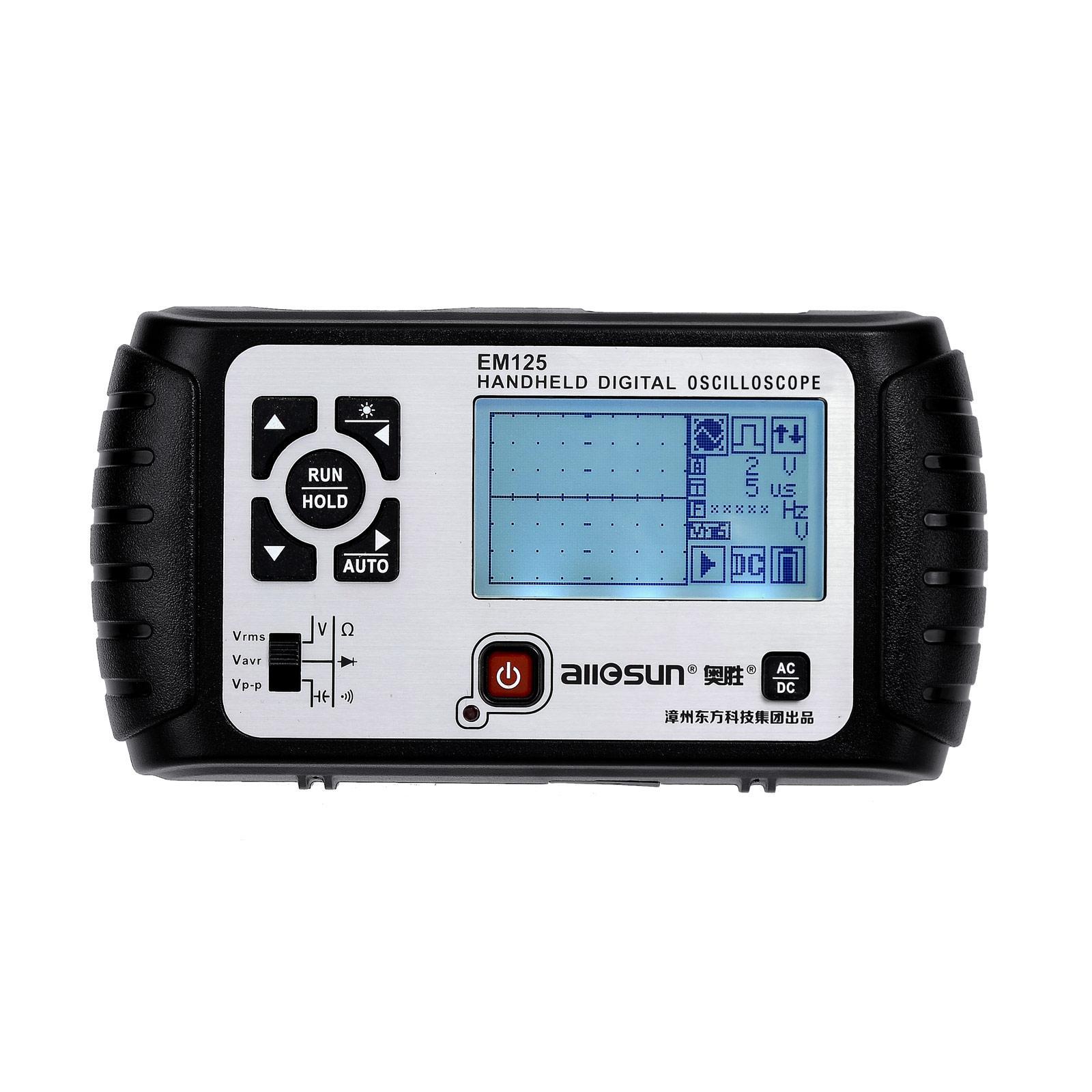 휴대용 오실로스코프와 디지털 멀티 미터 2 일 DMM 자동 대해서는 ScopeMeter 25MHz의 대역폭 Multifuction 전문 대해서는 ScopeMeter 모든-일 EM125에서