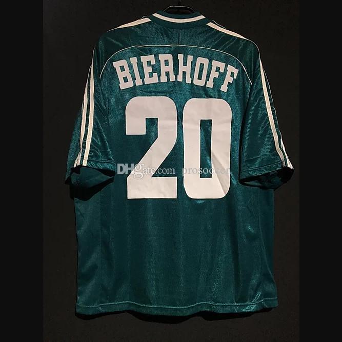 Retro Alemanha Jerseys de futebol Matthaus Klinsmann Ballack Klose Hässler Voller Bierhoff Möller Camisa Vintage Kit Clássico