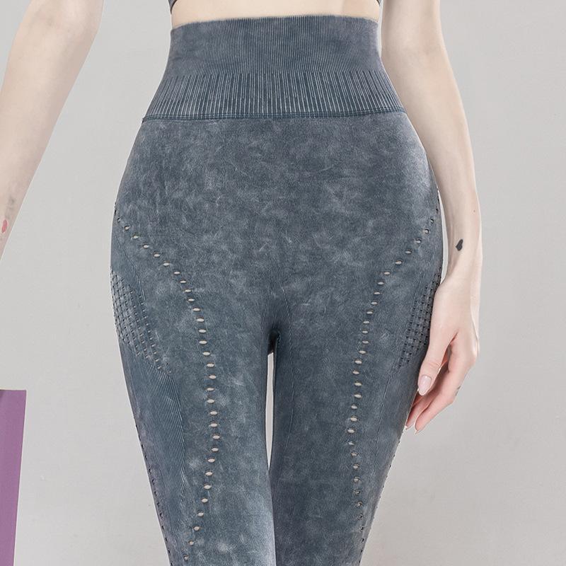Mujeres sin fisuras Energía Acefancy Legging de fitness ropa deportiva pantalones de la yoga superelastizado Gimnasio Medias Pantalones de talle alto Correr