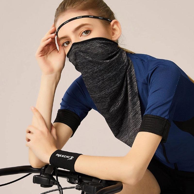 Ice Шелковый Солнцезащитный маска лето Мужчины и Женщины езда Магия оголовье Многофункциональный Открытый спортивный пыле и ветрозащитный ошейник DHL