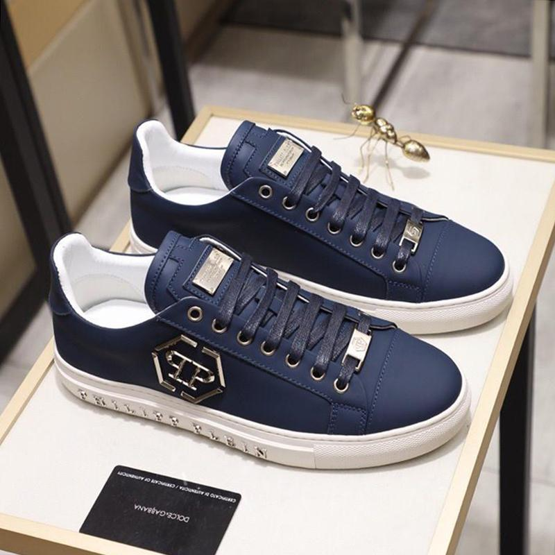 Lo-Spitze Turnschuhe Statement Herrenschuhe Herbst und Winter Lace-up Vintage-Luxus-Fußbekleidung Bequeme Schuhe Scarpe sportive da uomo Verkauf