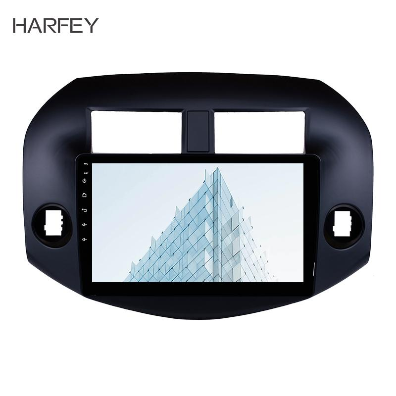 Harfey 10.1inch 2Din Android 8.1 Radio Audio GPS Stereo Wifi car Multimedia Player Head Unit For 2007-2011 Toyota RAV4 USB