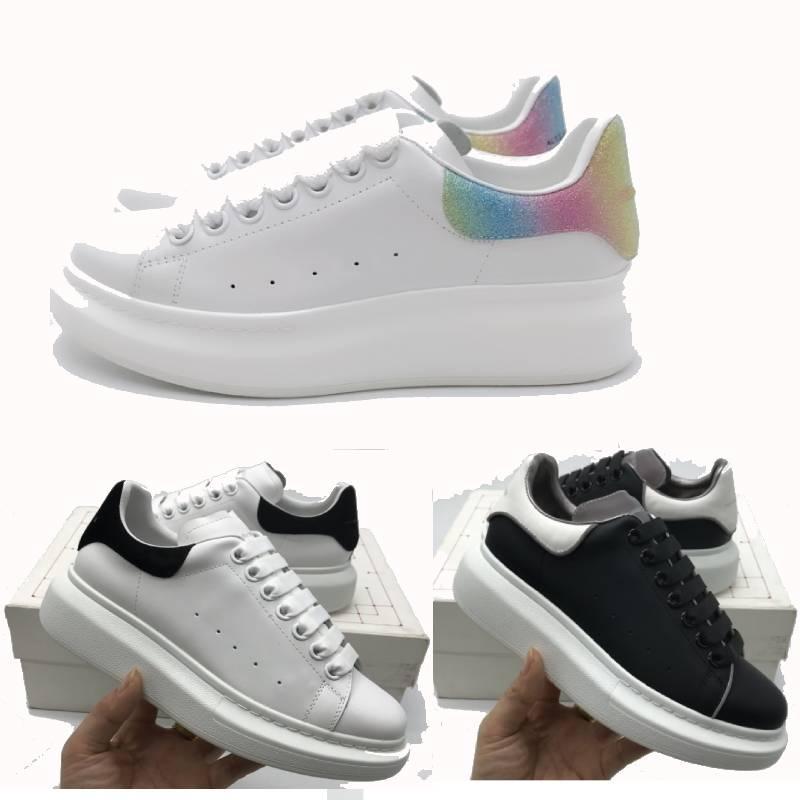 sobre el tamaño de Italia calza los zapatos casuales sobredimensionan aumento de la altura de la moda de París zapatos hombres de la moda las mujeres zapatillas de deporte de tamaño 36-45