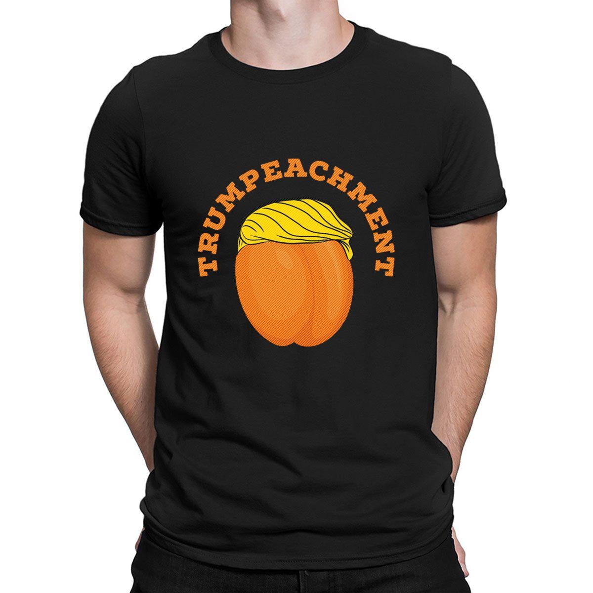 Trumpeachment Lustige Impeachment Anti Trump lustiges T-Shirt Famous Authentic-Rundhalsausschnitt Customized Cotton