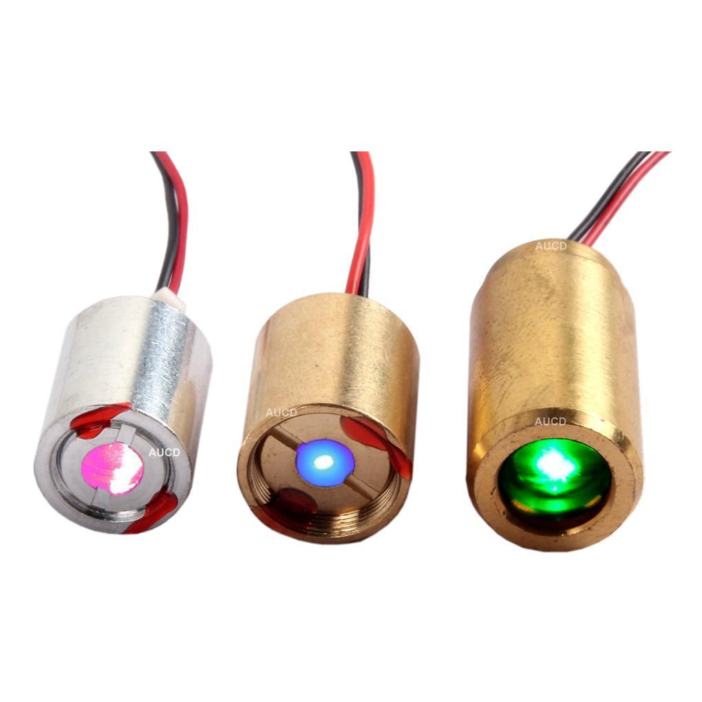 AUCD Rosso 100mW, verde 50mW, Modulo Blu 100mW laser a diodo per livelli Sight Vane Meter DJ Projecter illuminazione della fase Visualizza Parts - LD-RGB