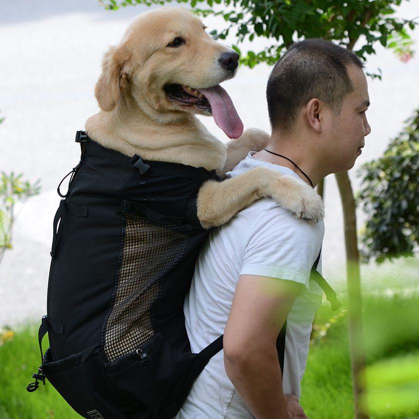 Dog Pet Carrier Sac à dos épaule voyageurs chien Outcrop Sacs ventilation lavable et extérieur Vélo Randonnée Sac à dos 2019