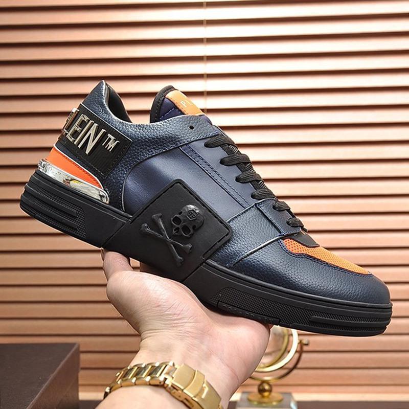 Yeni Geliş Erkek Ayakkabı Spor Hafif Sonbahar Ve Kış Footwears Artı boyutu Düşük En Dantel -Up Lüks Erkekler Ayakkabı Sneakers Zapatos De Hombre