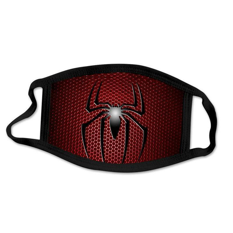 2020 Dhl Fashion Spider Man Spiderman Super Hero Designer Luxe adulte Masque Party cosplay réutilisable poussière lavable coupe-vent UofFM
