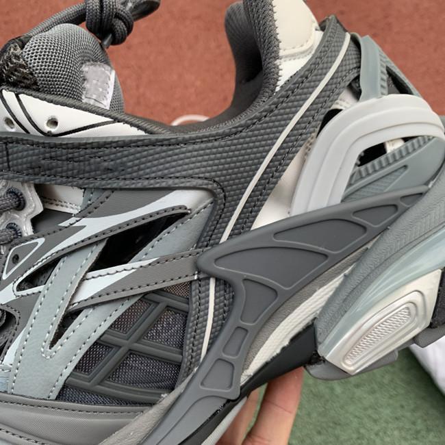 triple s de chaussures causales beige Zwarte ba len ci dames ga witte triple gris 542023W1GB71214 BLANC GRIS GRIS