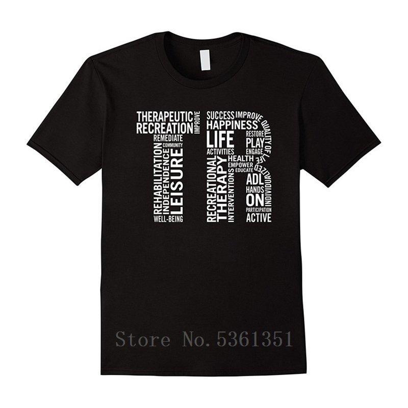 Therapeutic Recreation-Hemd für RT Monat Jugend-runde Kragen-Spitze T T-Shirts besonders angefertigt Shirt Kühle O Ansatz Hipster Tops