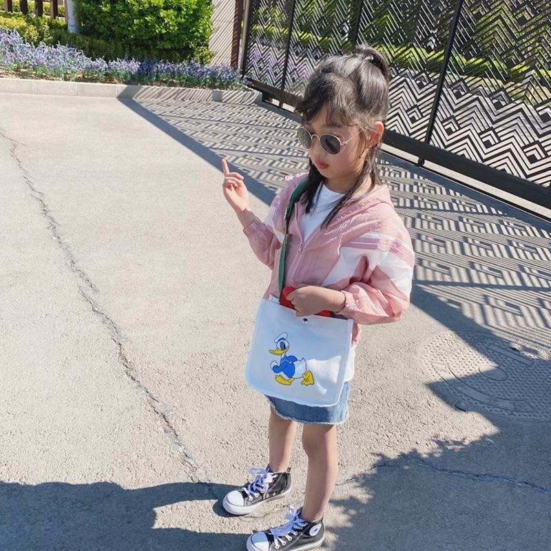 cartone animato er mano per bambini 2020 della nuova ragazza coreana Bao Tong tela tracolla cartone animato borsa di tela