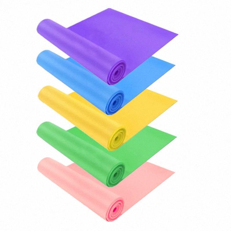 """Yoga Fascia elastica della fascia di resistenza Power Training Tensione Uomini Fitness e Donne """"Stretching cintura elastica cinghia ausiliaria Str Mgn9 #"""