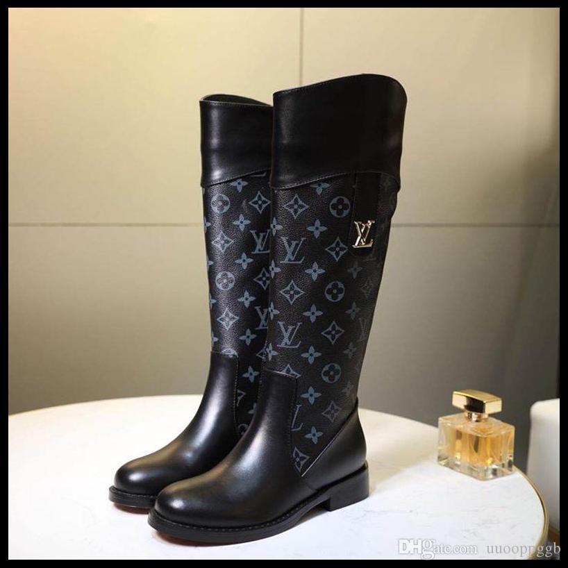 2019B nuevos casual de las señoras de moda los zapatos botines grupo de viaje de las mujeres de lujo, caja de embalaje original rápido deliverR