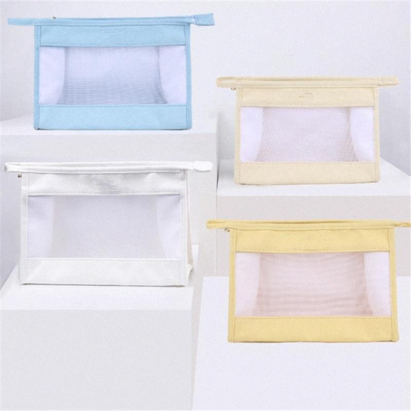 Multifuncional lona Storage Bag Mulheres Cosmetic Bag Viagem Transparente grande capacidade portáteis Bolsa Make Up Bags Wash Bolsa s6Y6 #