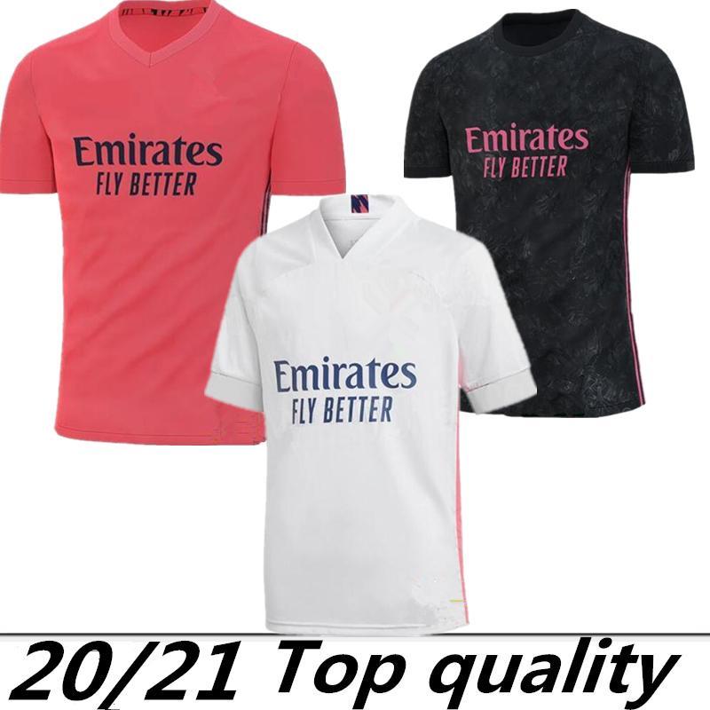마드리드 유니폼 2020 년 위험 이스 코 REINIEsoccer 저지 세르히오 라모스 모드리치 BALE 축구 셔츠 유니폼 (20) (21) camisetas EA 스포츠 키트