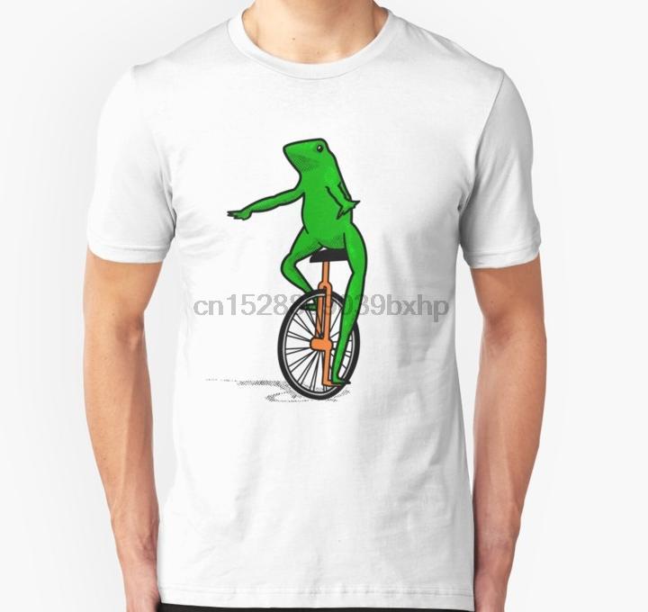 Erkekler Kısa Dat Boi Unicycle Kurbağa Tişörtlü Tişörtlü Kadınlar tshirt tshirt manşonlu