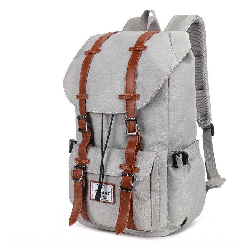 2019 waterproof outdoor men's and women's travel Bag travel bag camping Oxford backpack Korean leisure backpack