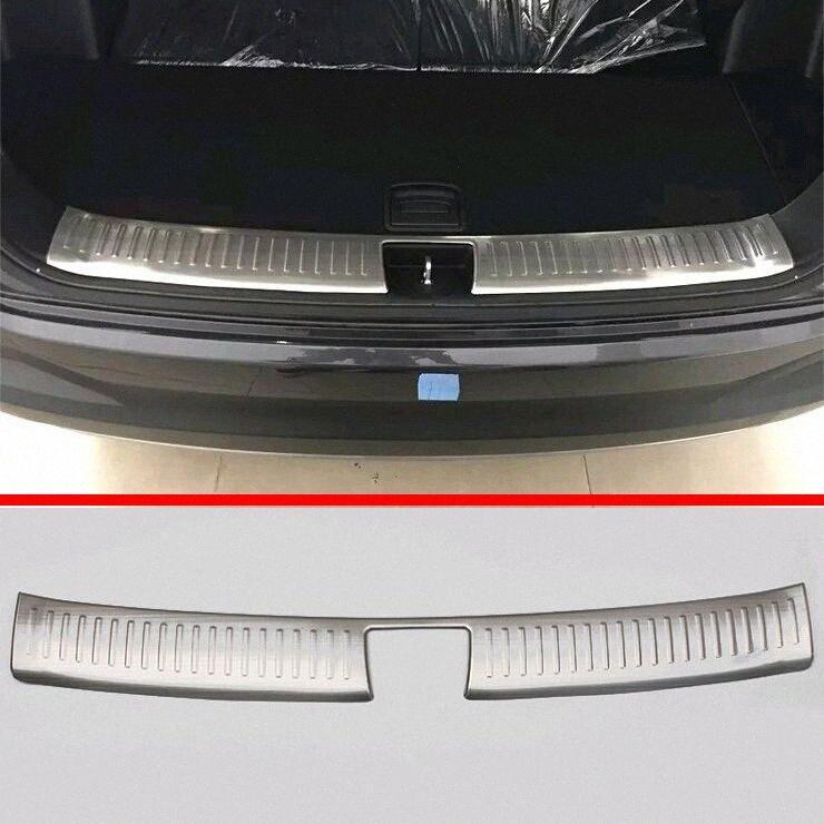 Para Kia Sorento L 2015 2016 2017 Stainless Steel Bumper Interior Inner traseira Sill Protector j0jp #