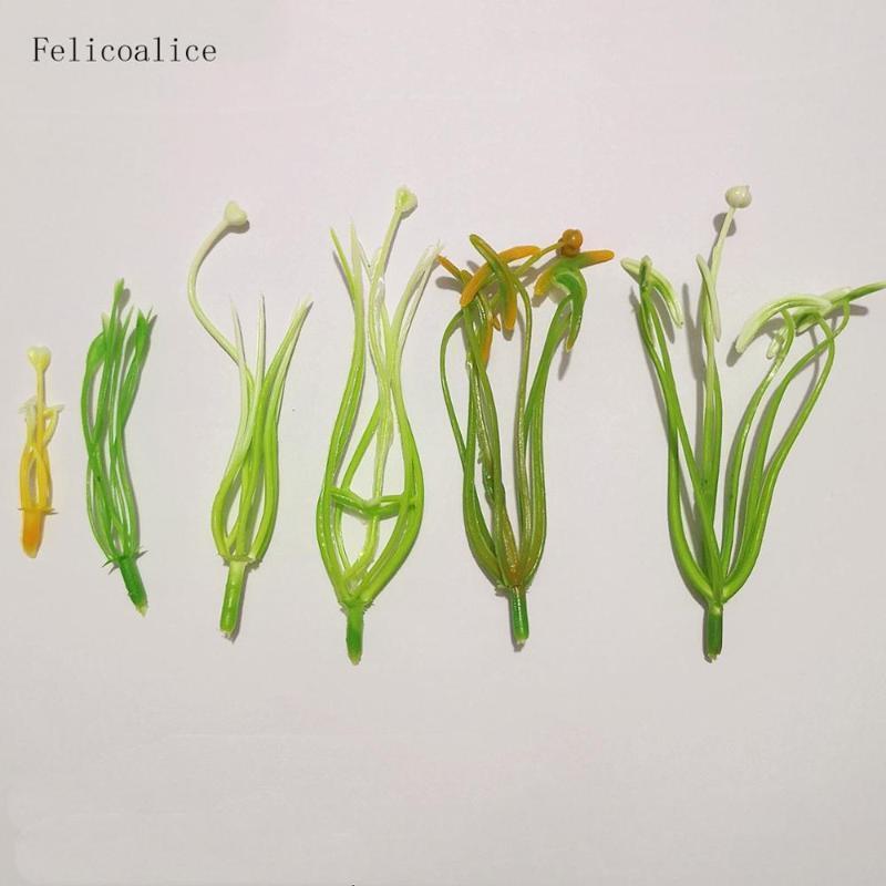 10 / 20pcs Lunghezza 5/8/11 centimetri Giallo Verde Nylon Materiale del fiore calza Fiore Materiale di alta qualità Giglio Stame Stile