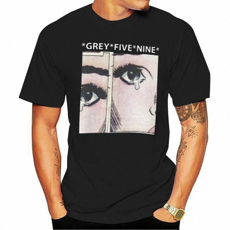 Отпечатано Мужчины Футболка Хлопок Tshirts O образным вырезом с коротким рукавом серый Пять Девять Uicideboy2 Женщины Футболка Как футболках Высокий Футболка экам #