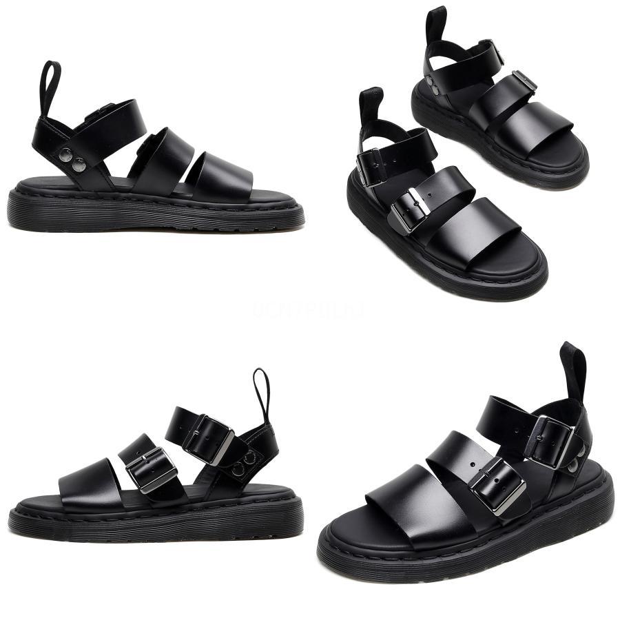 MIXIDELAI New Summer Men # S Chaussures de sport Chaussures Sandales en cuir véritable non-Slip SneakersBeach Sandales grande taille 35-46 Y200107 # 197