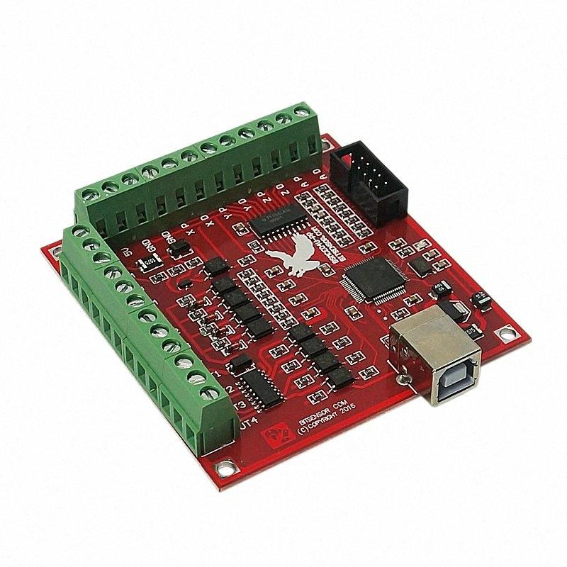 ABSF Usb 100Khz Breakout Board 4 Axis Cnc Milling Machine Interface Driver Motion Controller Engraver Cutting Machine Parts rc0h#