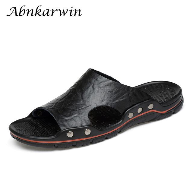 S Shoes Mens Slippers Summer Men