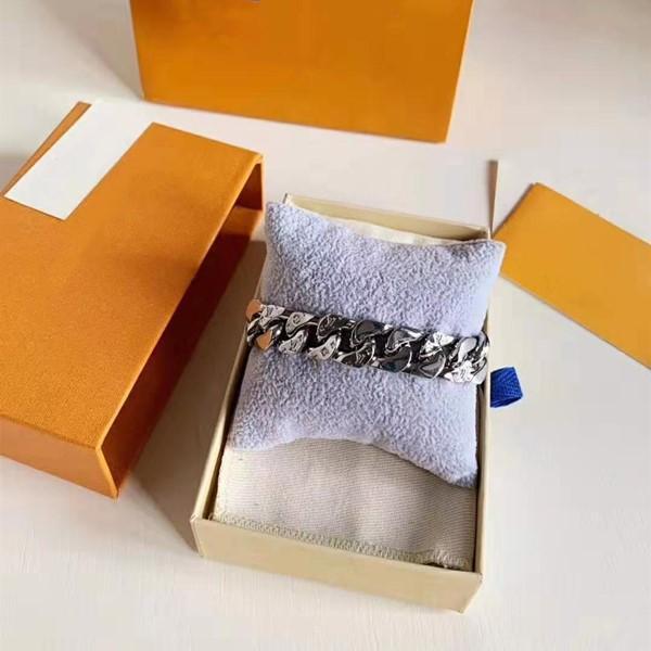la industria pesada de la moda pulsera del diseñador cubano mens joyería pulseras de diseño de lujo de Europa y América