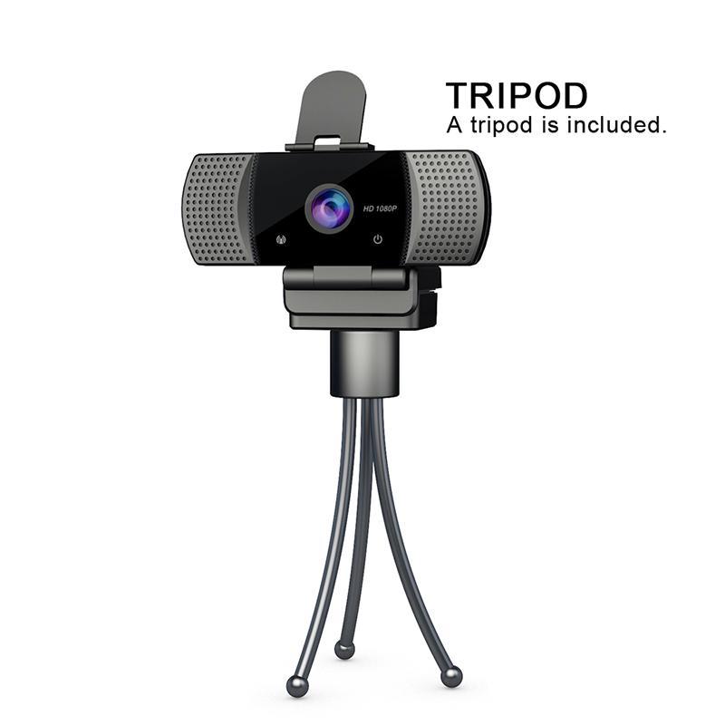 HD Webcam Web-Kamera 30 FPS 1920 * 1080 PC-Kamera Built-in Schallabsorbierende Mikrofon USB 2.0 Video Rekord für Computer für PC Laptop