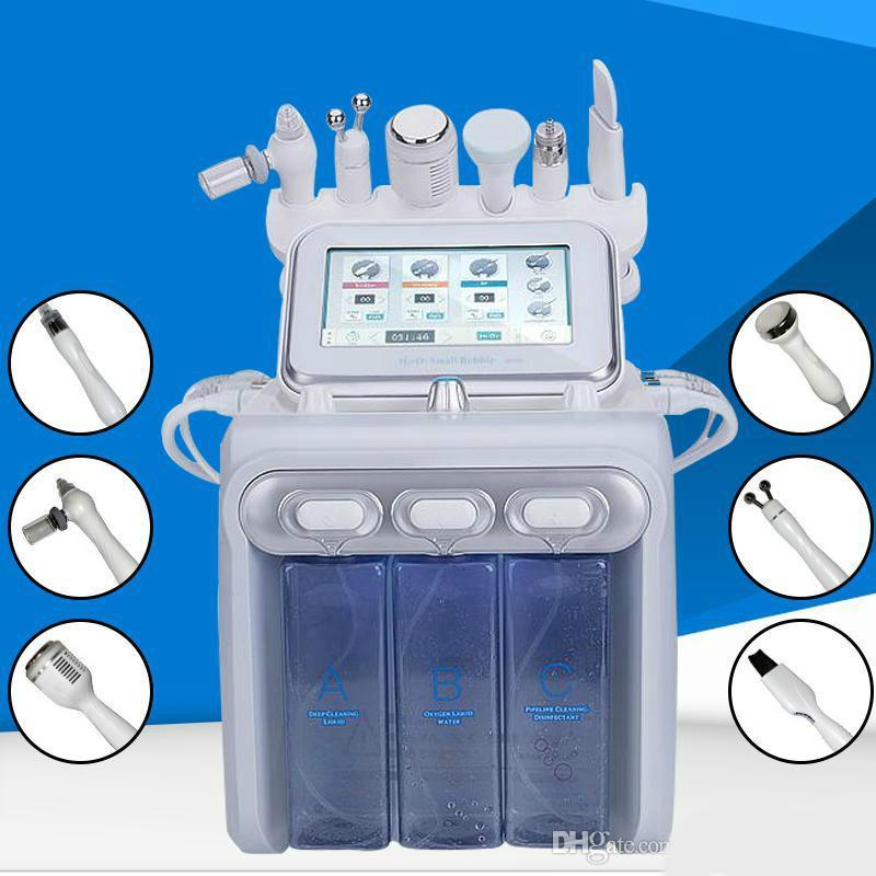 1 유압 얼굴 박피술 기계 물 산소 제트 박리 히드라 피부 세탁기 얼굴의 아름다움 깊은 청소의 RF 얼굴에 뜨거운 판매 6