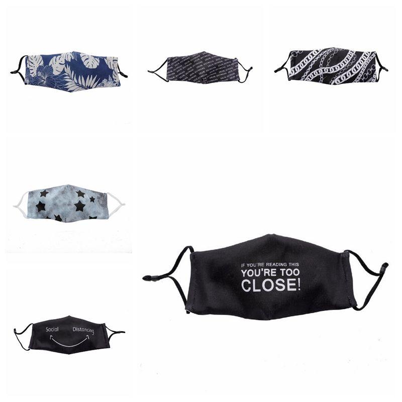 7 Stiller pamuk yüz maskesi açık karşıtı sis yeniden ağız maskesi yetişkin koruyucu yüz maskeleri YYA352 toz geçirmez mesafeyi korumak