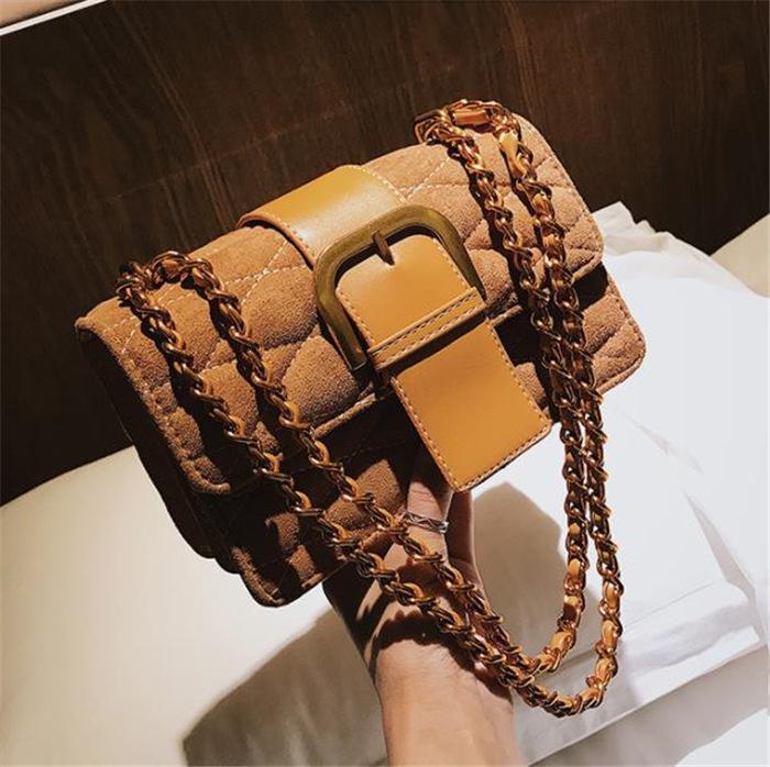 Nouveau sac messager épaule sac à chaîne pour les femmes
