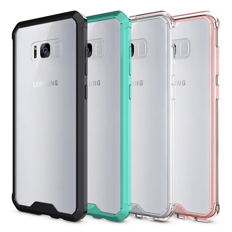 Für Samsung S8 plus Argument transparenter freier weicher TPU harter PC rückseitige Abdeckung Telefon-Kasten für Samsung-Galaxie ANMERKUNG 8