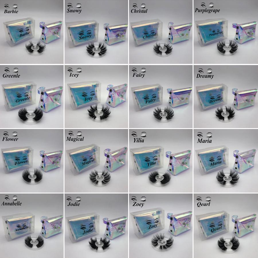 NEW 25mm lange falsche Wimper echter 3D-Mink Wimpern 5d Mink Wimpernverlängerung natürliche weiches Auge peitscht Verfassungs-Werkzeug