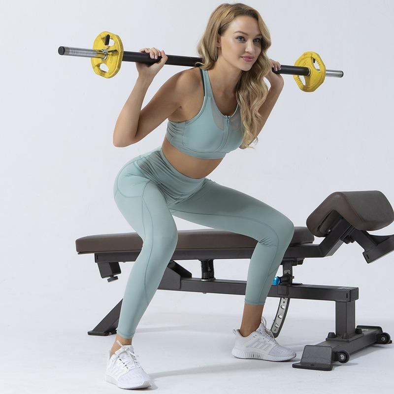 Yoga Outfits Women Gym Suit Leggings Ropa Deportiva Mujer Sports Pants Clothing Set