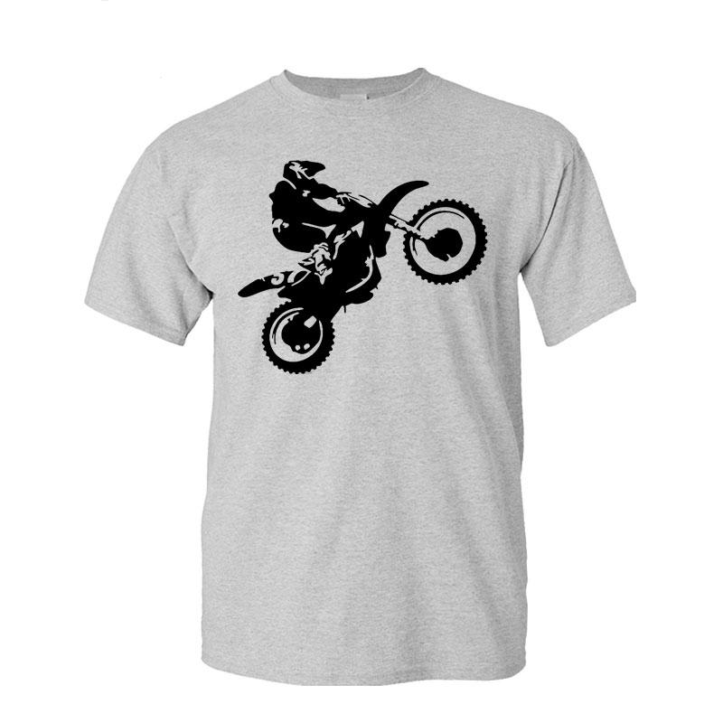 Marke 2017 T - Shirt Männer Sleeve Buchstaben O-Ansatz O Ansatz Graphic Cross Country Motorrad Printed S-5xl Unisex Männer-T-Shirt Fitness