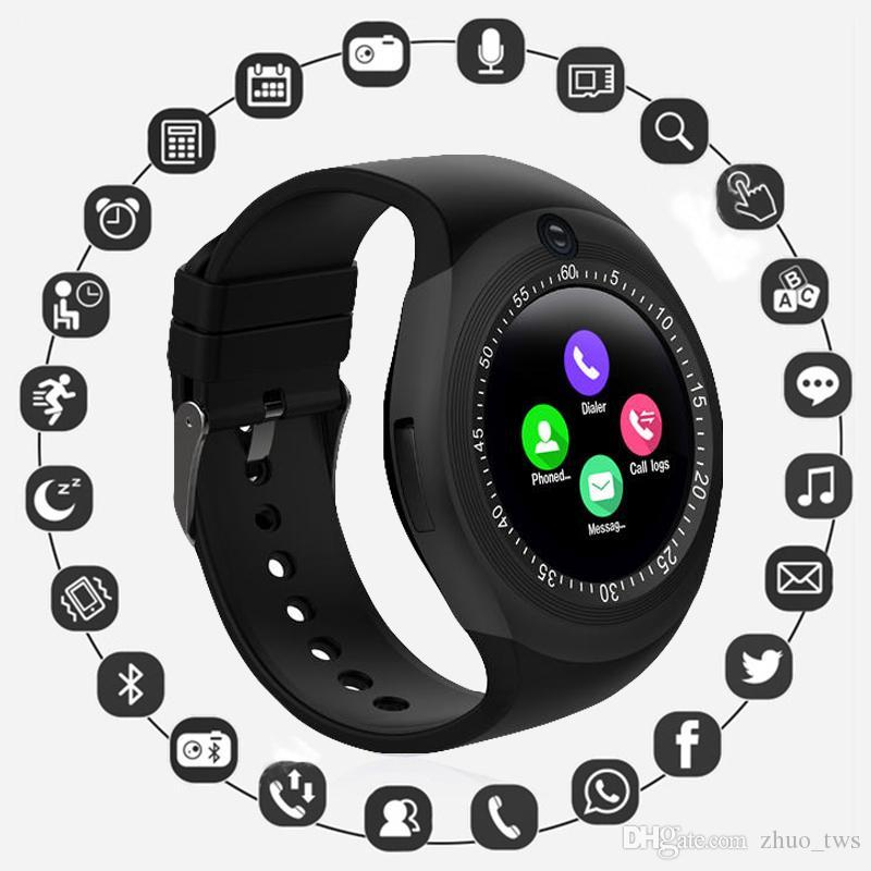 Cámara de 0,3 MP OUTMIX V8 Hombres Mujeres Deporte Inteligente Relojes Soporte de tarjeta SIM Bluetooth del ritmo cardíaco sangre oxigenación adulto Paso Niño