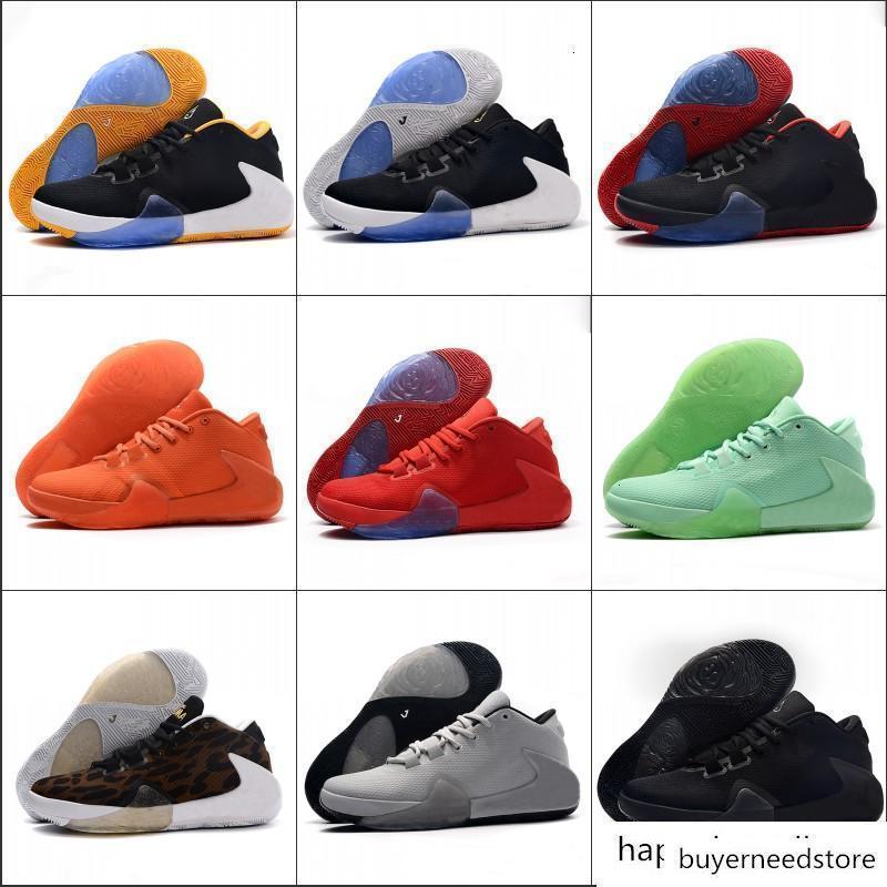 Yakınlaştırma Freak 1 Düşük Basketbol Ayakkabı Giannis Antetokounmpo GA Ben 1S İmza GA1 Spor Sneakers 40-46