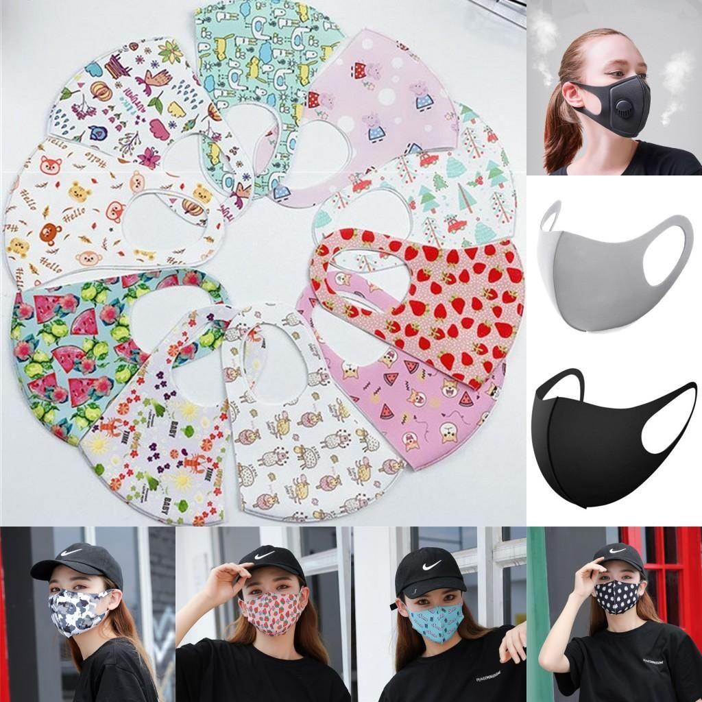 EEUU Stock No puedo respirar Máscaras Ciclismo cara reutilizable Unisex Algodón Máscara facial deportes al aire libre Correr anti-polvo diseñador de la máscara DHL