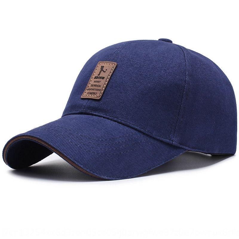 algodón sombrero de otoño de deportes al aire libre de los nuevos hombres coreanos de los deportes al aire libre del sombrero del casquillo gorra de béisbol de béisbol sol simples